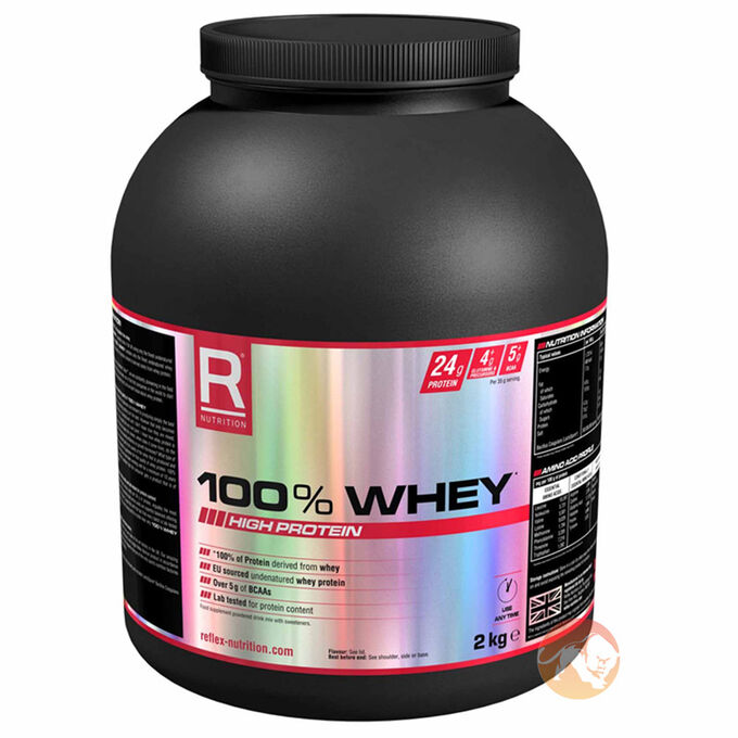 100% Whey 2kg Chocolate Peanut Butter