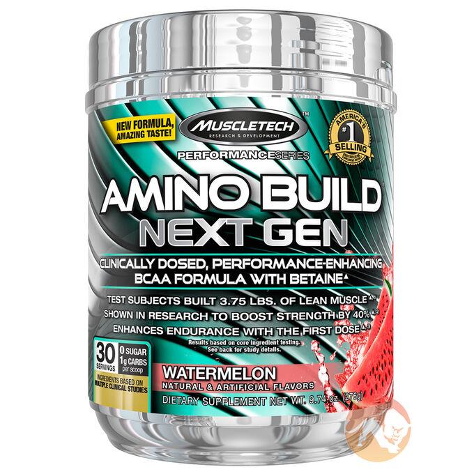 Amino Build Next Gen 30 Servings Icy Rocket Freeze