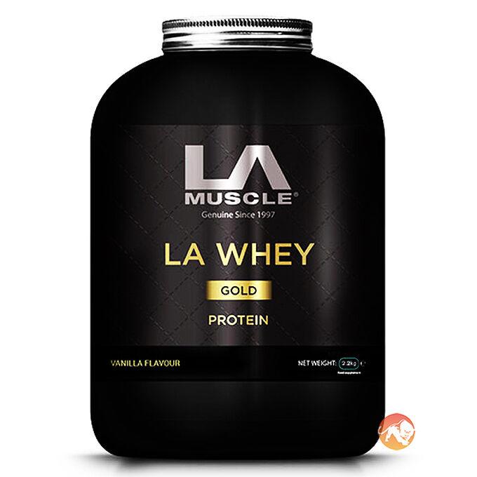 LA Whey Gold 2.2kg - Strawberry