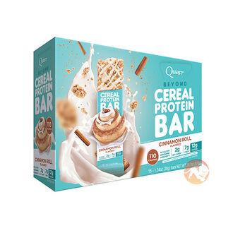 Quest Beyond Cereal Protein Bar Cinnamon Roll 15 Bars