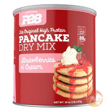Pancake Mix Strawberries and Cream