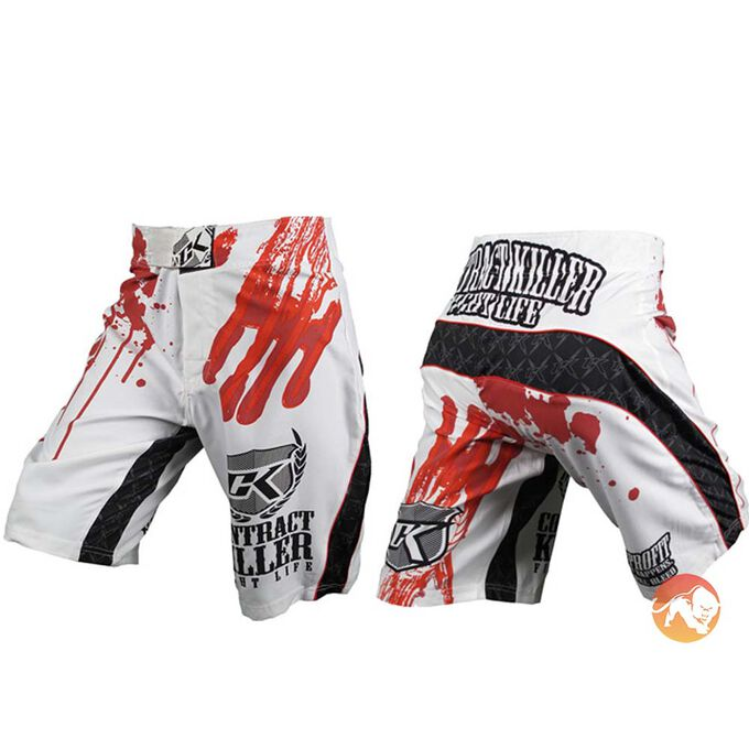 Stained Fight Shorts - 30inch Waist