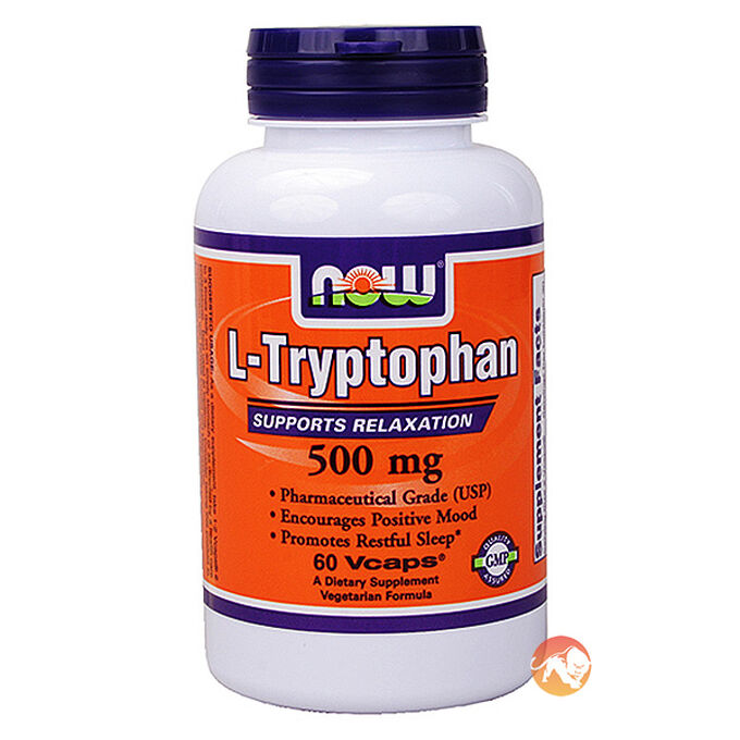 L-Tryptophan 500mg 60 Caps