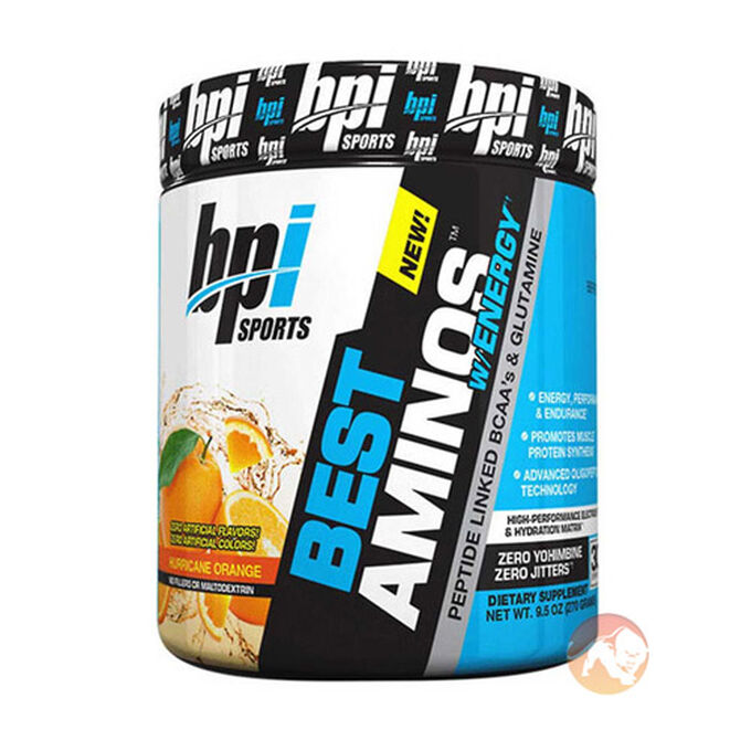 Best Aminos w/Energy 30 Servings Blue Icy Raz