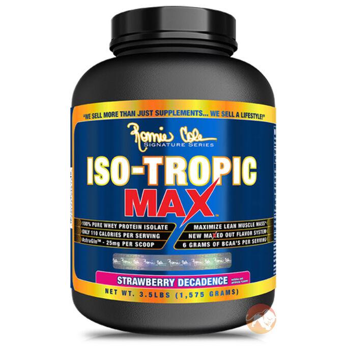 Iso-Tropic Max 910g (2lb) - Blue Raspberry