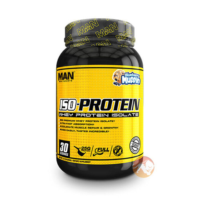 Iso Protein 30 Servings Blueberry Muffin