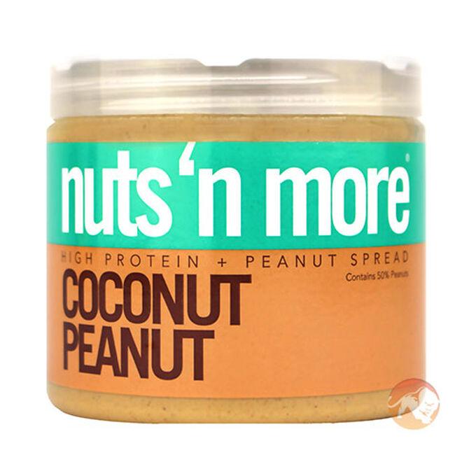 Nuts n More Coconut Peanut Butter 454g