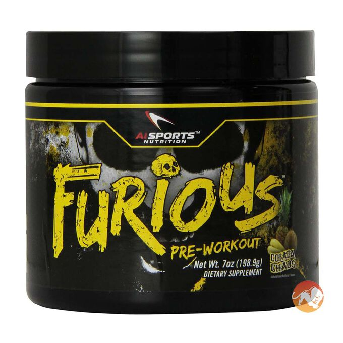 Furious 30 Servings-Blue Raspberry