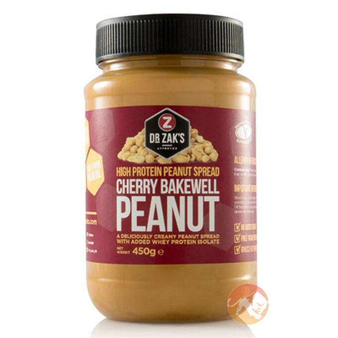 High Protein Peanut Spread 450g Cherry Bakewell