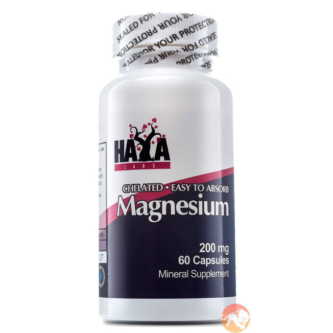 Chelated Magnesium 200mg 60 Caps