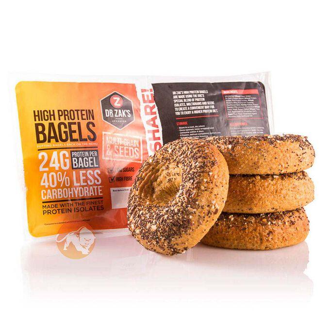 High Protein Bagels Multigrain 4-Pack