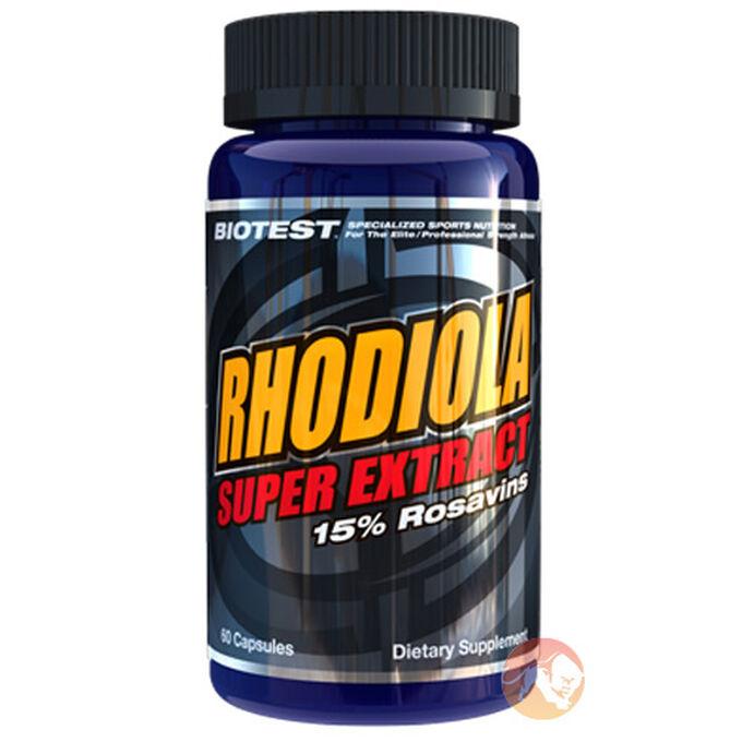 Rhodiola Super Extract 60 Capsules