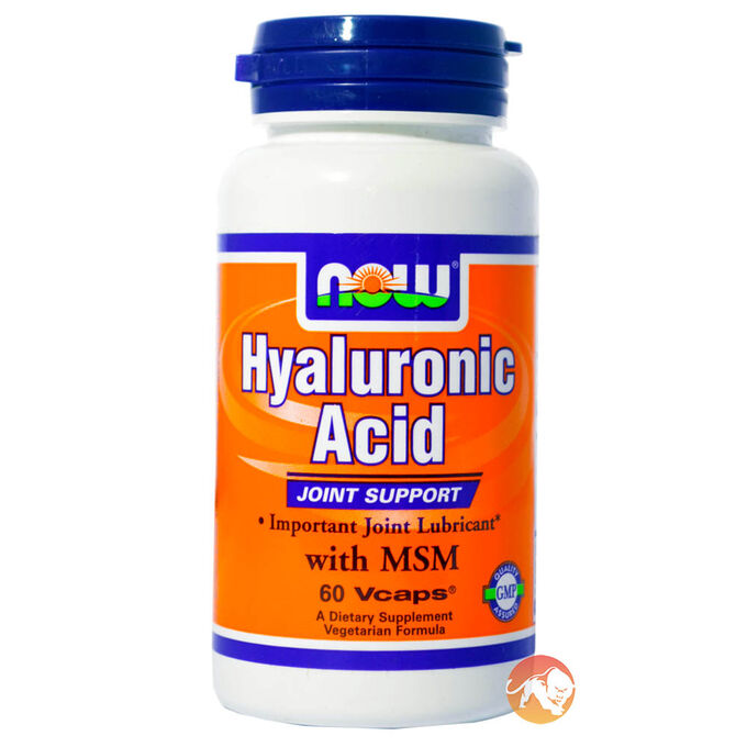 Hyaluronic Acid With MSM 60 Vcaps