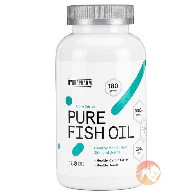 Pure Fish Oil 180 Softgels