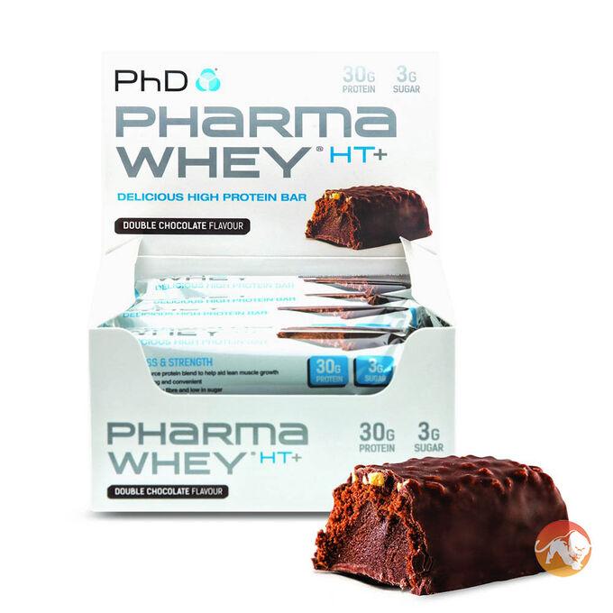 Pharma Whey HT+ 12 Bars Double Chocolate