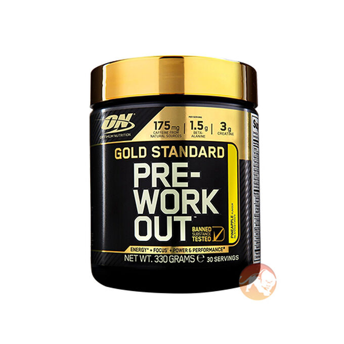 Gold Standard Pre-Workout 30 Servings Pineapple