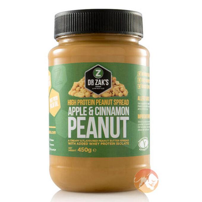 High Protein Peanut Spread 450g Apple & Cinnamon Peanut