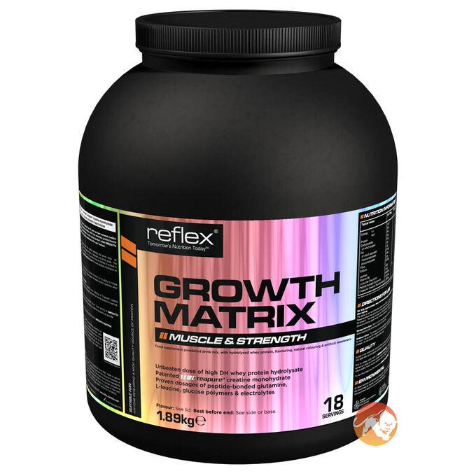 Growth Matrix 1.89kg Rich Chocolate