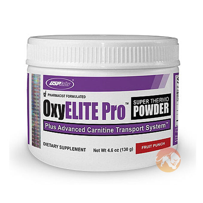 OxyElite Pro Super Thermo Powder 60 Servings - Blue Raspberry