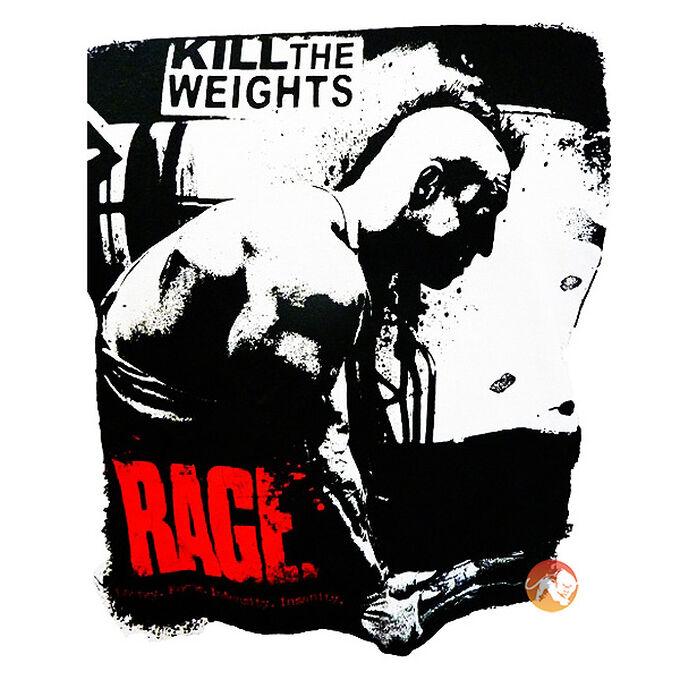Animal Rage T-Shirt - XL black