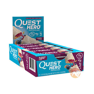 Quest Hero Bar 10 Bars Chocolate Caramel Pecan