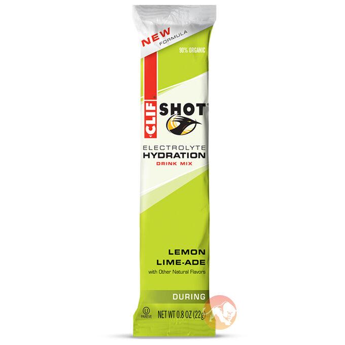 Clif Shot Electrolyte Hydration Drink Lemon Lime-Aid
