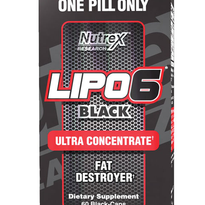 Lipo-6 Black Ultra Concentrate 60 Capsules