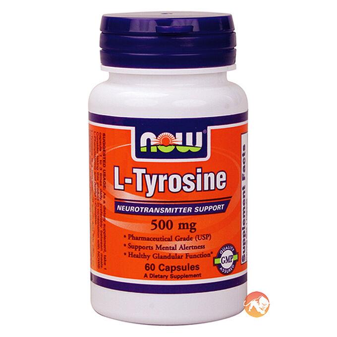 L-Tyrosine 500mg 60 Caps
