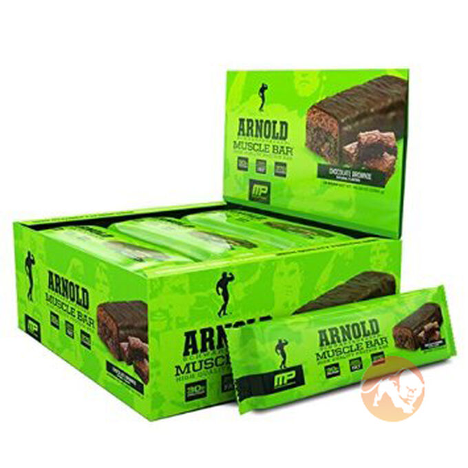 Muscle Bar 12 Bars Frosted Cinnamon
