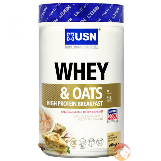Whey & Oats 800g - Apple Cinnamon