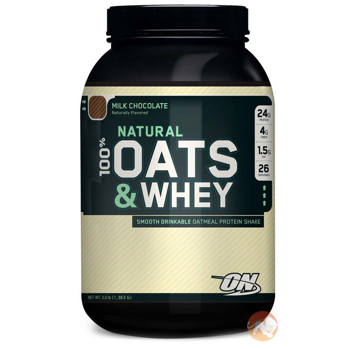 100% Oats & Whey 3lb - Milk Chocolate