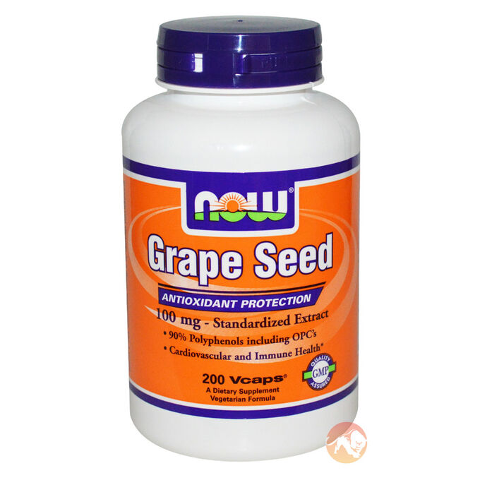 Grape Seed 100mg 100 VCaps