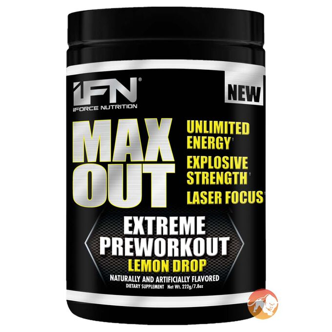 Max Out 30 Servings Green Apple