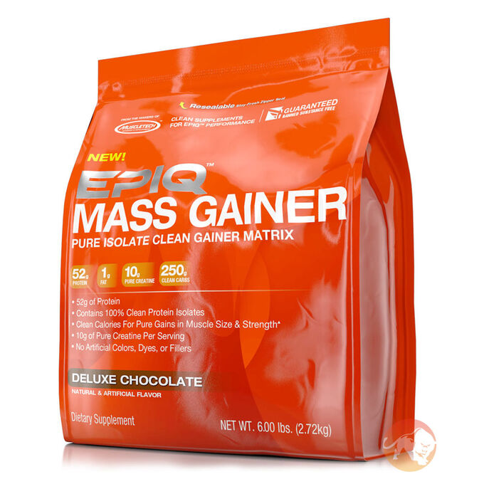 Epiq Mass Gainer 2721g Deluxe Chocolate