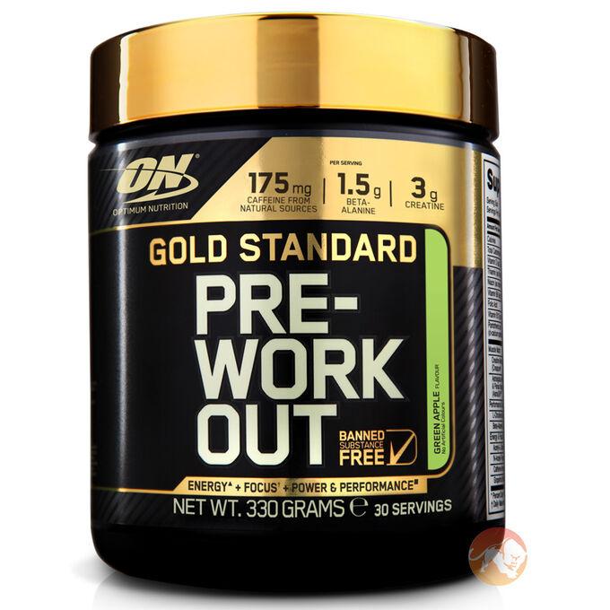 Gold Standard Pre-Workout 30 Servings - Watermelon