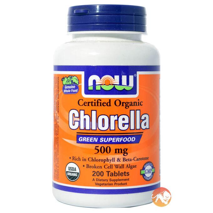Organic Chlorella 500mg 200 Tabs
