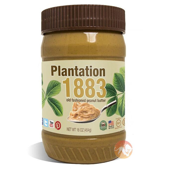 Plantation Creamy 1883 Peanut Butter 454g