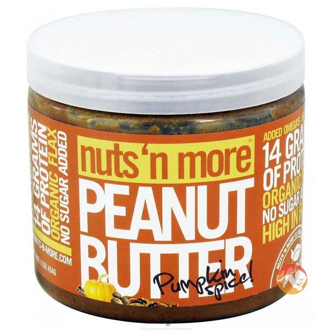 Nuts 'N More Pumpkin Spice Peanut Butter 454g