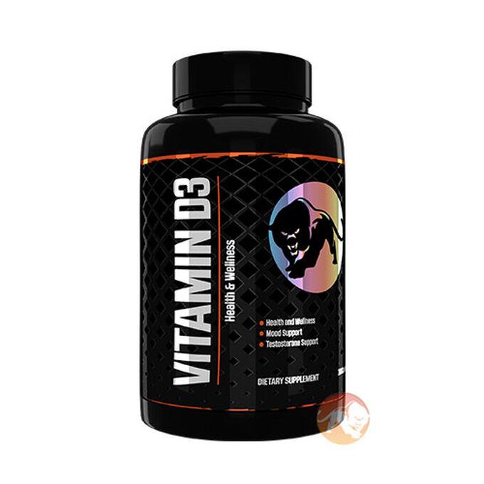 Vitamin D3 180 Caps 2000IU