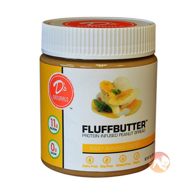 Fluffbutter 284g Gooey Bananas Foster