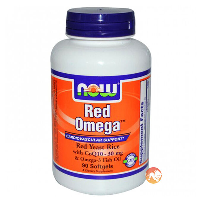 Red Omega 90 Softgels