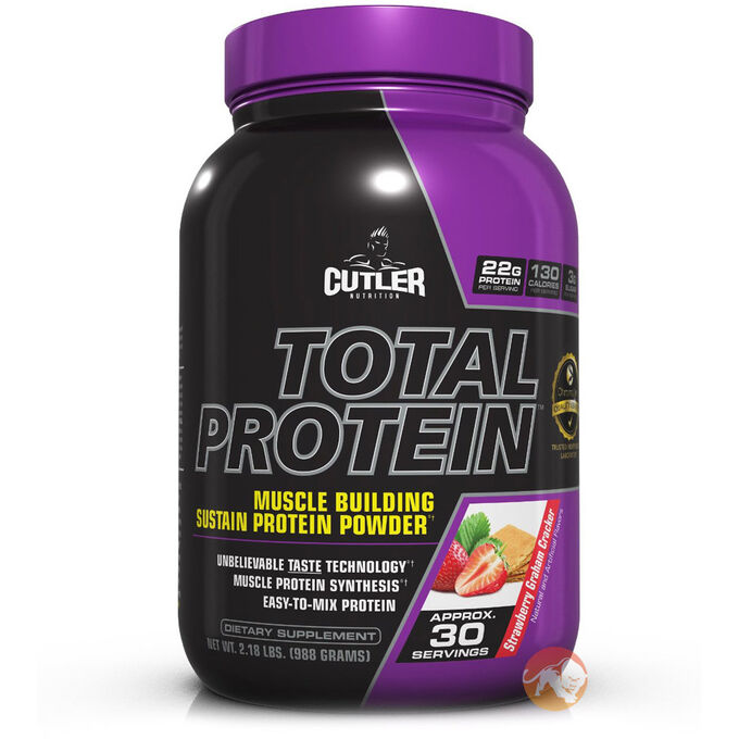 Cutler Total Protein 1050g (2.3lb) - Strawberry