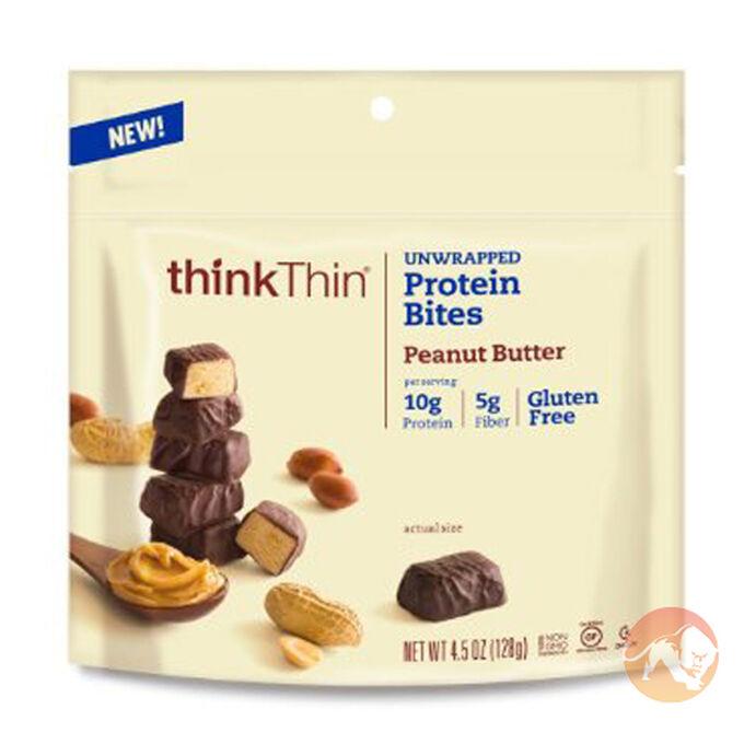 thinkThin Protein Bites 128g Salted Caramel