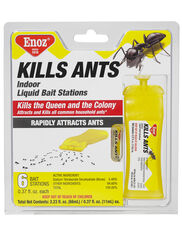 Indoor Liquid Ant Bait Stations, Set of 6