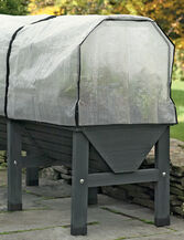 VegTrug™ Patio Garden with Covers, Charcoal