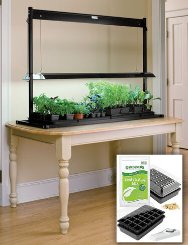 Tabletop Garden Starter® Grow Light Kit