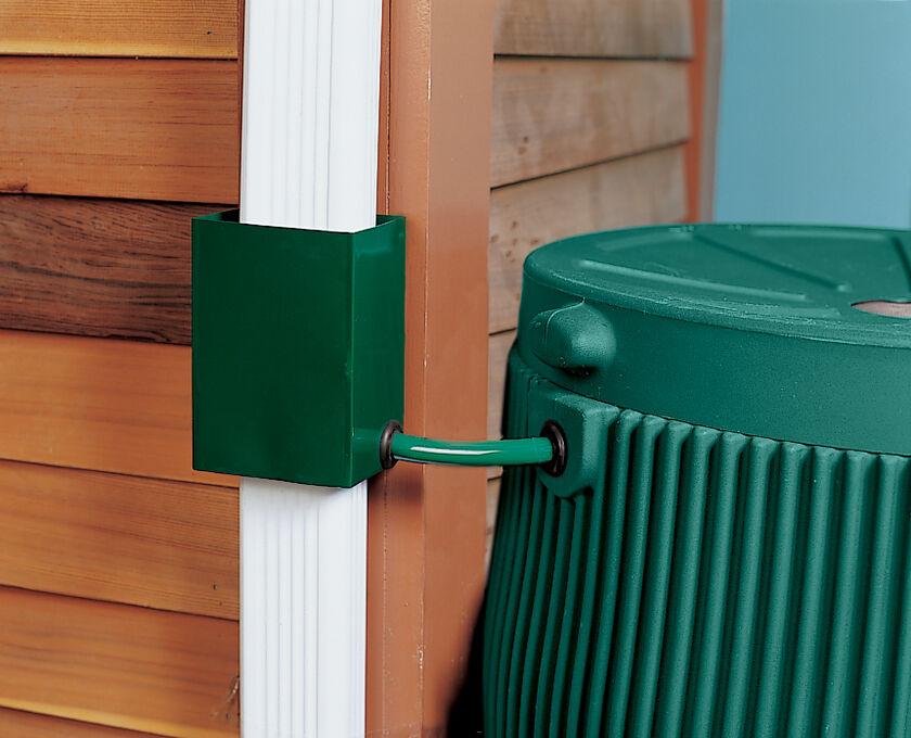 Downspout Diverter Rain Barrel Diverter Gardener S Supply