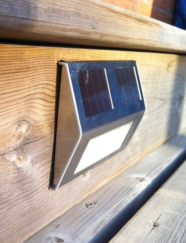 solar deck lights set of 4 solar step lights solar stair lights