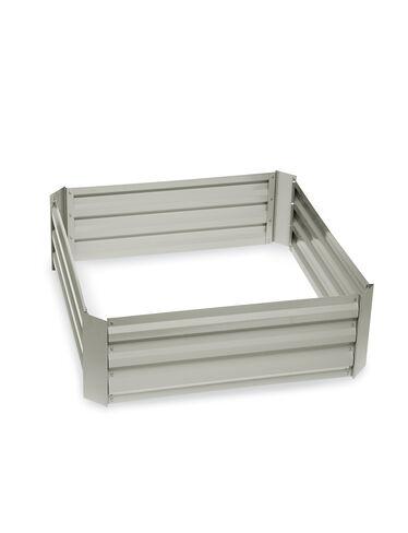 """Demeter Corrugated Metal Raised Bed, 34"""" x 34"""""""