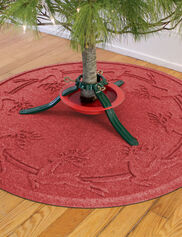 Christmas Tree Water Glutton Mat, 32""